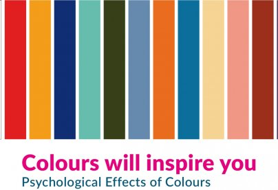 Colours will inspire you – The psychological impact of colour